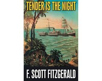 Canvas Art Print - Tender Is The Night (F. Scott Fitzgerald)