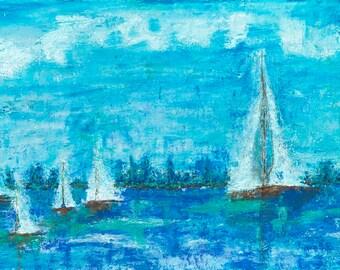 Harbor (Giclee Prints)