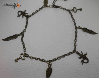 02687 - Bronze ankle bracelet