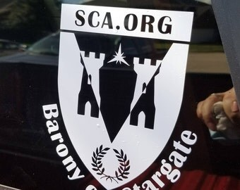 Barony of Stargate Decal - SCA
