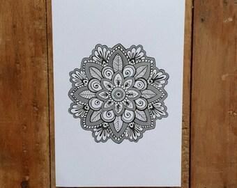 Hand Drawn Mandala