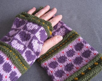 Austrian style mittens