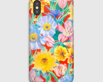 Case for iPhone X 8, 8 +, 7, 7 +, 6s, 6, 6s +, 6, 5 c, 5, 5s 5SE, 4s, 4 Liberty Meadow Melody