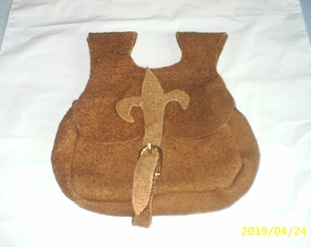 Medieval style Belt pouch leather