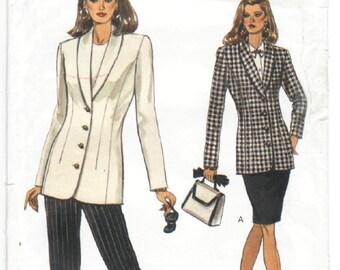 8543 Very Easy Very Vogue - Misses Jacket, skirt, Pants - UNCUT Sewing pattern Sz. 6-8-10