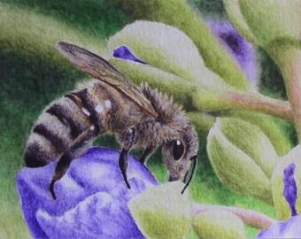 bee painting (original)