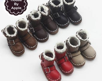 5 colour Short Snow Boots shoes for Blythe/DAL/Pullip/Azone/momoko/Jerryberry/Licca