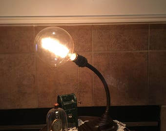 Art Deco style circa. 1935 Eagle Gooseneck Desk Lamp