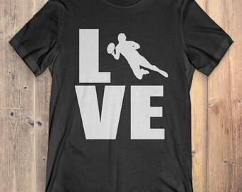 Rugby T-Shirt Gift: Love Rugby