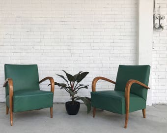 SOLD-pair of armchairs anni ' 50
