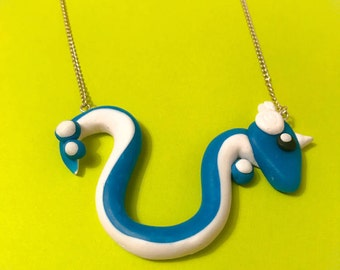 Dragonair handmade pokemon necklace