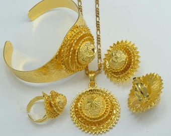 Quality Ethiopian style jewelry set