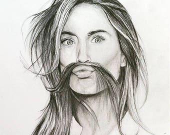 Personalized Portrait-Retrato Personalizado