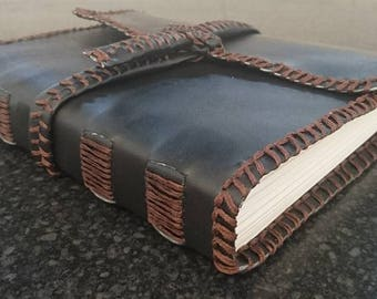 Handmade Faux-Leather Sketchbook/ Journal