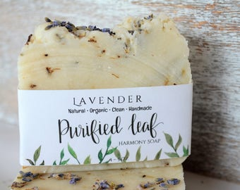 Lavender Soap, Organic Soap, Handmade, Homemade, Bar Soap, Natural, Clean, Skin treatment.