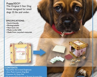 PUPPY2GO! 5 Star Dog Hotel for Toy & Small Breed Dogs!