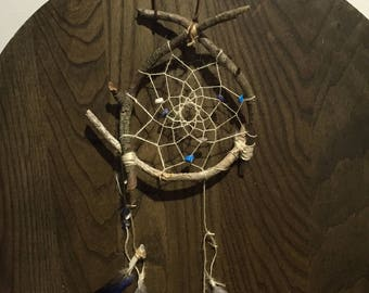 Hand crafted natural dreamcatcher