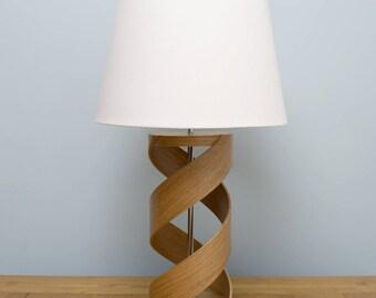 Wooden table lamp, Lamp base, Oak lamp, Table lamp, Bedside lamp, Wooden table, Lamp, Mothers Day Gift, Lighting