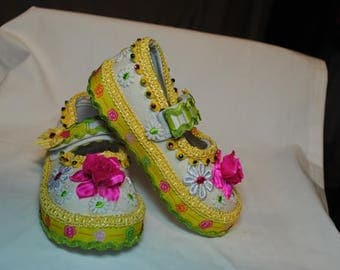 Summer Sadie Girl's Shoes Size 7 (2 years)