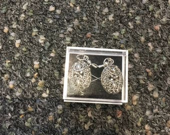Ethnic Silver colour Earrings