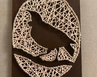 Tui Bird String Wall Art