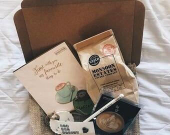 Coffee Lovers Barista Subscription Box (DECEMBER)