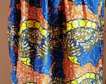 skirt long wax / maxi skirt made with wax