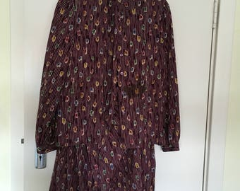 Vintage Jaeger two-piece skirt/top