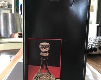 Maintenon Cristal D'Arques French Crystal Liqueur/Wine Decanter Carafe