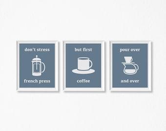 But First Coffee, Coffee Decor, Coffee Wall Art, Kitchen Decor, Office Decor, Kitchen Art, Office Art, Printable Art, Coffee Mug, Caffeine