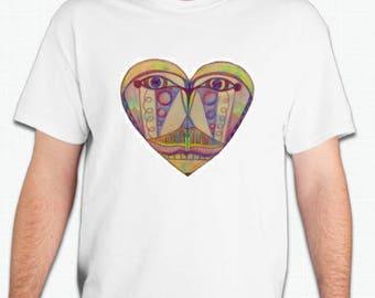 Heart Face Shirt