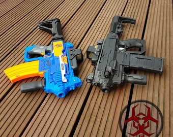 Behring P4 Style Kit for Nerf Stryfe  - 3D printed Cosplay Larp (only 3D printed parts)