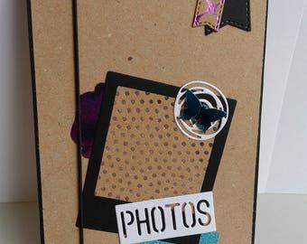 "Album photo ""accordéon"" façon scrapbooking"