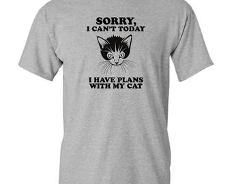 Cant Today I Have Plans With My Cat - T-shirt