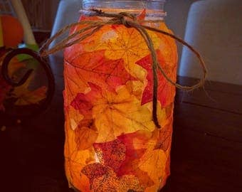 Fall Jar-Big