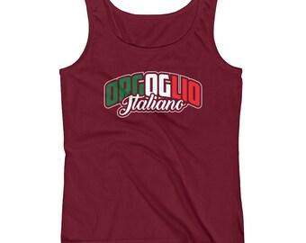 Orgoglio Italiano - Italian Pride Heritage Themed Ladies' Tank Top