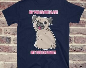 Pug Shirt, Pug T Shirt, Pug Clothing, Funny Pug Shirt, Pug Tee, Pug Tee Shirt, Pug Dog Shirt, Pug Owner Gift, Pug Lover Shirt, Funny Pug Tee