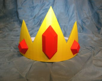 Ice King Inspired Cosplay Crown