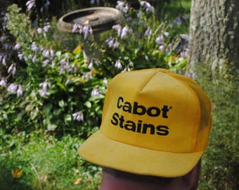 Cabot Stains - 80s snapback with CORDUROY FRONT
