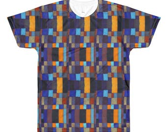 Square Guy All-Over Printed T-Shirt