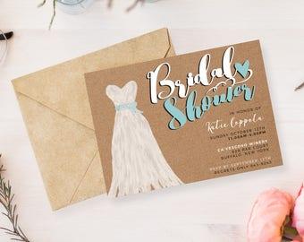 Bridal Shower Invitations | Customizable
