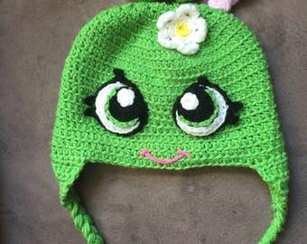 Apple Blossom Inspired Shopkins Crochet Hat