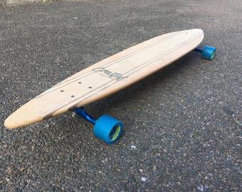 Pintail hardwood longboard skateboard