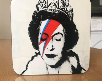 Banksy Coaster #62 - Banksy Gift - Banksy Coaster - Custom Coaster -Gift for Her - Gift For Him - Fridge Magnets - Banksy Magnet - Souvenir