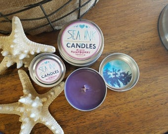 Black Raspberry Vanilla | Sea Ink Candles