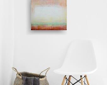 Encaustic Painting- It's Just So...Pink