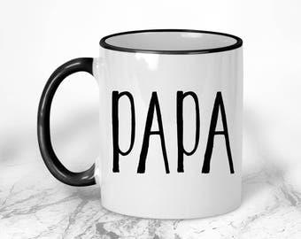 Papa Mug // Grandpa Gift