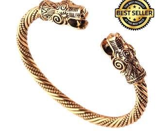 Rare Viking Runes Odin Bear bracelet !!!