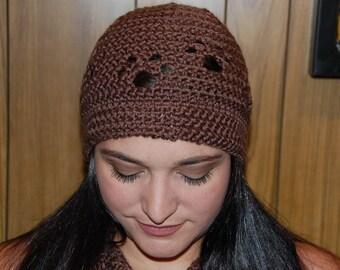Crochet Paw Print Hat