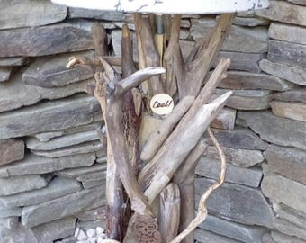 The cevennes Driftwood lamps. Unique creation.